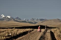 Bolivia - Altiplano - Condoriri - villagers 10