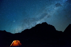Bolivia - Apolobamba - night - camp 13