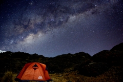 Bolivia - Apolobamba - night - camp 14