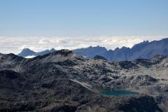 Bolivia - Cordillera Real - view from Huayna Potosí 41