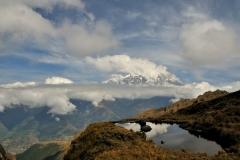 Bolivia - Yungacruz - trail - Illimani 59