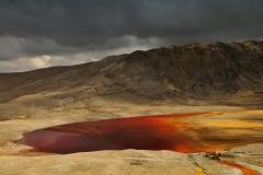 Bolivia - Cordillera Real - Huayna Potosí - lake - mining contamination 45