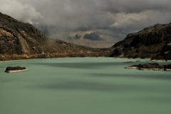 Bolivia - Cordillera Real - Huayna Potosí - lake 46