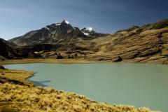 Bolivia - Apolobamba - lake 3