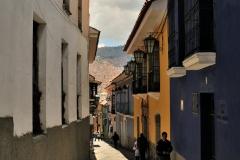 Bolivia - La Paz - colonial street - Calle Jaen 19