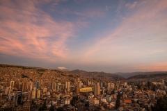 Bolivia - La Paz - sunset 12