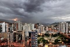 Bolivia - La Paz - Sopocachi - electric storm 11