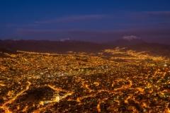 Bolivia - La Paz - night 2