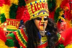 Bolivia - people - Oruro - dancers 5