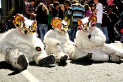 Bolivia - people - La Paz - dancers 11