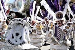 Bolivia - people - La Paz - dancers 12