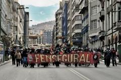 Bolivia - people - La Paz - demonstration 18