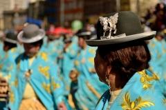 Bolivia - people - La Paz - dancers 3
