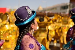 Bolivia - people - La Paz - dancers 4