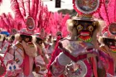 Bolivia - people - La Paz - dancers 1