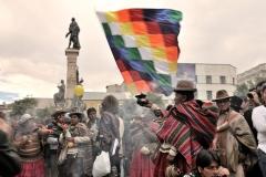 Bolivia - people - La Paz - traditional 15