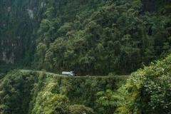 Bolivia - Yungas - death road - truck 28