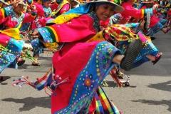Bolivia - people - La Paz - dancers 2