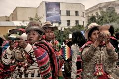 Bolivia - people - La Paz - traditional 16