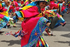 Bolivia - people - La Paz - dancers 2