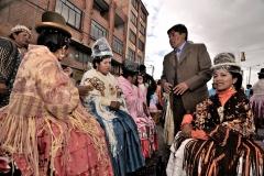 Bolivia - people - El Alto - cholitas 34