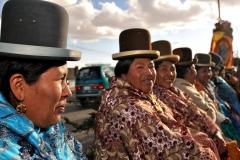 Bolivia - people - El Alto - cholitas 36