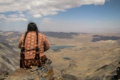 Bolivia - people - Condoriri - Pico Austria - cholita 40