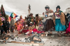 Bolivia - people - La Paz - traditional 13