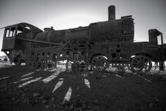 Bolivia - Uyuni - train cemetery 3