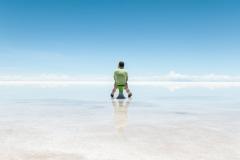 Bolivia - Salar de Uyuni - salt lake - reflection 13
