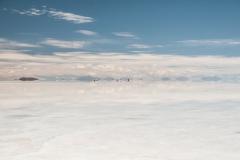 Bolivia - Salar de Uyuni - salt lake - reflection 16