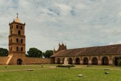 Bolivia - San Jose de Chiquitos - church 17