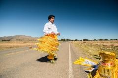 Bolivia - Lake Titicaca - morenada dancer 18