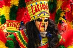 Bolivia - Oruro - carnival - dancer 1