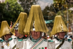 Bolivia - La Paz - police 7