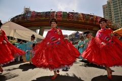 Bolivia - La Paz - Gran Poder - cholitas 6