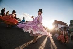 Bolivia - El Alto - dancer 3