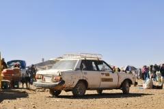 Bolivia - El Alto - old taxi 9