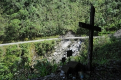 Bolivia - Yungas - death road - cyclists 36