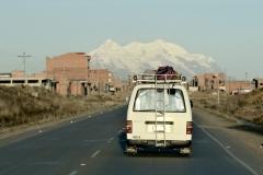 Bolivia - El Alto - minibus - Illimani 10