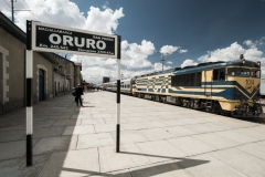 Bolivia - Oruro - train - station 23