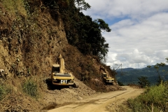 Bolivia - Alto Beni - road - construction 38