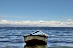 Bolivia - Lake Titicaca - fishing boat 30