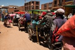 Bolivia - Desaguadero - traffic jam 14