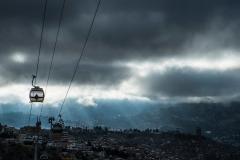 Bolivia - La Paz - cable car - yellow line 2