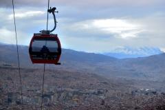 Bolivia - La Paz - cable car - red line 3