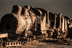 Bolivia - Uyuni - train cemetery 18